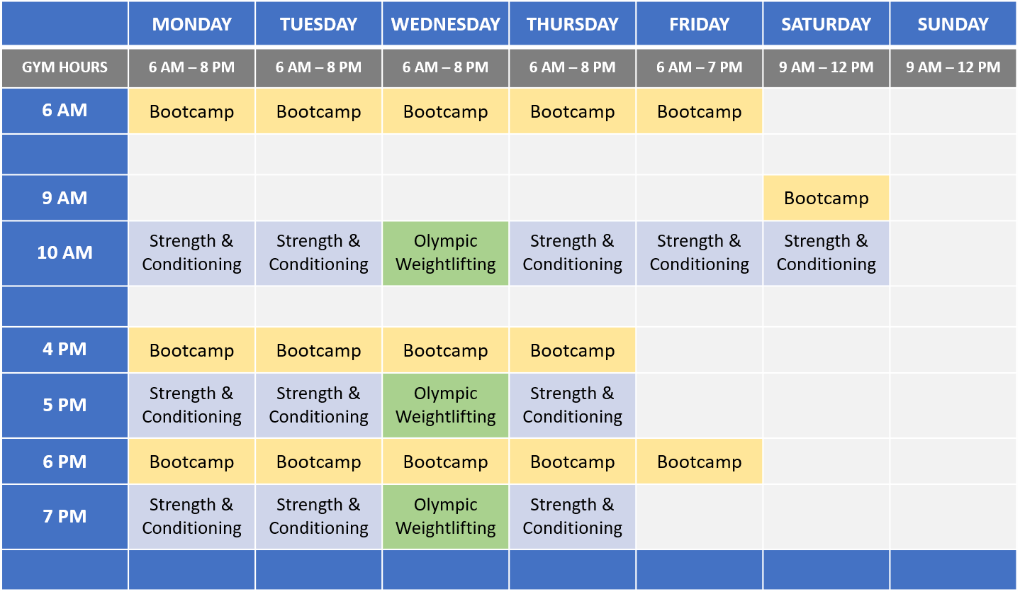 C3 Los Angeles Schedule - 2020-06-30