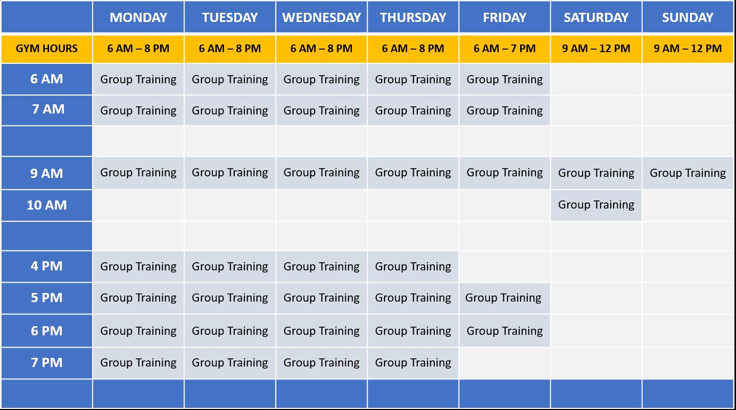 C3 - Class Schedule
